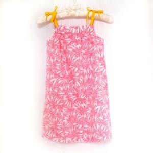Hanna Andersson Sun Dress w/Ribbon Bow Straps